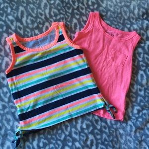 French Toast Lot of 2 Toddler Tank Tops
